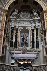 Cathédrale Santa Maria Assunta ou cathédrale Notre-Dame - Nederlands: Kathedraal van Ajaccio - Kapel van Onze-Lieve-Vrouw van de Heilige Rozenkrans
