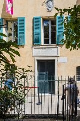 Maison de Napoléon Bonaparte - English: Birthplace of Napoleon Bonaparte in Ajaccio (Corsica).