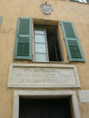 Maison de Napoléon Bonaparte - Lëtzebuergesch: Gebuertshaus vum Napoleon Bonaparte.