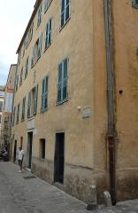 Maison de Napoléon Bonaparte - Deutsch: Geburtshaus Napoleons in Ajaccio