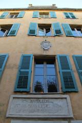 Maison de Napoléon Bonaparte -  Maison Bonparte