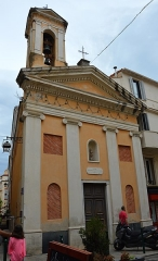 Oratoire Saint-Jean-Baptiste - Deutsch: Kirche, Oratoire Saint-Jean-Baptiste d'Ajaccio