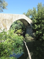 Pont de Spina-Cavallu sur le Rizzanèse (également sur commune de Sartène) - This building is indexed in the Base Mérimée, a database of architectural heritage maintained by the French Ministry of Culture,under the reference PA00099119 .
