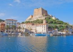Citadelle - Français:   Haute ville de Bonifacio