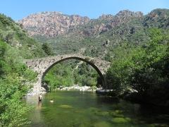 Pont génois de Pianella - English: Pont génois de Pianella