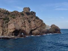Tour génoise de Porto -  Corsica - Porto - Genovese tower & waves