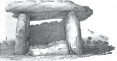 Dolmen de Fontanaccia - French writer, historian, archaeologist and translator