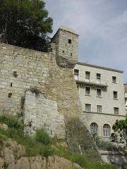 Echauguette et rempart attenant - Français:   Échauguette de Sartène