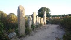 Alignement de menhirs de Pagliajo -  Menhirs de Palaggiu