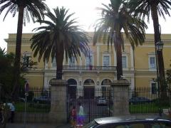 Palais Lantivy - English: Corsica - Ajaccio - La Préfecture on Cours Napoléon