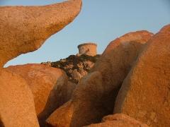 Tour de Campomoro et son enceinte fortifiée -  Tour de Campomoro en Corse du Sud