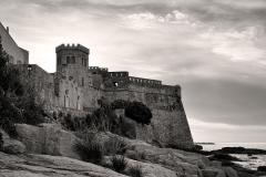 Château-fort -  Algajola, Balagne (Corse)- Le fort (U Castellu) du XVIe siècle, ancienne résidence du gouverneur génois
