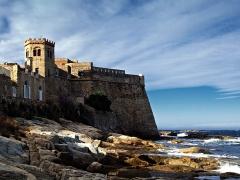 Château-fort -  Algajola (Corsica)- Vue du fort (U Castellu) XVIe siècle