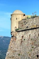 Château-fort -  Algajola, Balagne (Corse) - L'échauguette de la citadelle