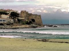 Château-fort - Français:   Algajola - Le château