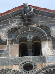 Eglise de la Sainte-Trinité - Deutsch: Die romanisch-pisanische Église de la Trinité et de San Giovanni (franz.: Église de la Sainte-Trinité et de Saint Jean-Baptiste) befindet sich auf dem Friedhof von Aregno im Nordwesten der Insel Korsika.