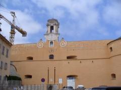 Citadelle et palais du Gouverneur, partiellement aménagé en Musée d'Ethnographie -  Bastia - Citadelle - Place de Donjon