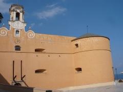 Citadelle et palais du Gouverneur, partiellement aménagé en Musée d'Ethnographie - Italiano: Palazzo dei Governatori di Bastia