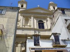 Eglise Saint-Jean-Baptiste -  Bastia - St.Jean Baptiste facade