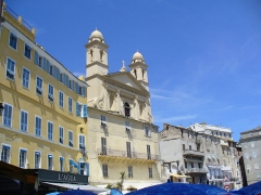 Eglise Saint-Jean-Baptiste -  Bastia - St.Jean Baptiste from the Vieux Port