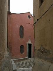 Eglise Sainte-Croix - English: Église Sainte-Croix de Bastia from the south (from the St. Mary Church)