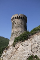 Tour de Losso - English: Genoese tower in Corsica.