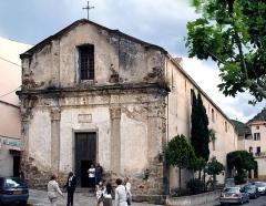 Chapelle de la Confrérie Sainte-Croix -  Calenzana, Balagne (Corse) - Chapelle de la Confrérie Sainte-Croix (Santa Croce), dite «Casazza», propriété de la commune. Elle est inscrite Monument historique.