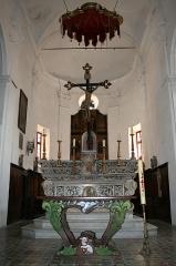 Eglise Saint-Jean-Baptiste - Français:   Calvi (Haute-Corse) - Chœur et autel de la Pro-cathédrale Saint-Jean-Baptiste.