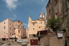 Eglise Saint-Jean-Baptiste - Français:   Calvi (Haute-Corse) - Quartier de la cathédrale Saint-Jean-Baptiste.