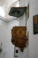 Eglise Saint-Jean-Baptiste -  Calvi, Balagne (Corse) - Chaire à prêcher de l\'église Saint-Jean-Baptiste