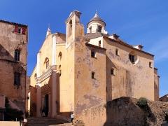 Eglise Saint-Jean-Baptiste - Français:   Calvi, Balagne (Corse) - Pro-cathédrale Saint-Jean Baptiste dans la citadelle