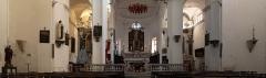 Eglise Saint-Jean-Baptiste - Français:   Calvi (Corsica) - Intérieur de la cathédrale Saint-Jean-Baptiste