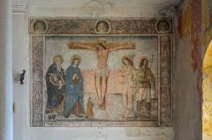 Oratoire Saint-Antoine - English:   In the Oratoire Saint-Antoine there are frescos from 1513.