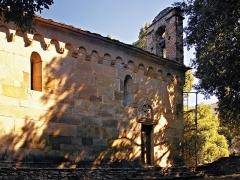 Chapelle San-Quilico -  Cambia - San Quilicu en réfection (mars 2009)