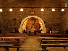 Eglise Saint-Pancrace -  Castellare-di-Casinca - Intérieur de l'église San Pancraziu