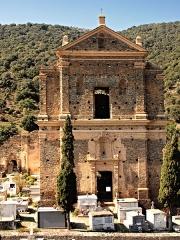 Ancien couvent de Caccia -  Castifao - Fronton du couvent