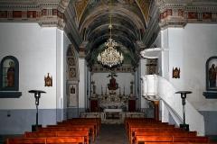 Eglise paroissiale -  Cateri, Balagne (Corse) - Nef de l'église paroissiale de l'Assomption