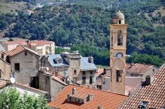 Eglise de l'Annonciation -  Church tower in Corte