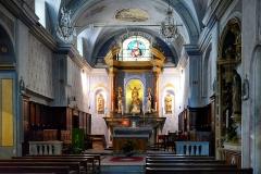 Eglise de l'Annonciation -  Corte, Centre Corse - Chœur de l'église de l'Annonciation (Chjesa di a Nunziata)