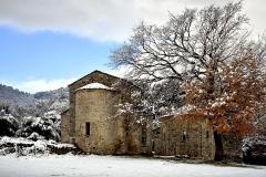 Ensemble religieux de San Giovanni -  Corte, Centre Corse (Haute-Corse) - Ensemble San Giovanni Battista (église du Xe siècle, et baptistère du XIIIe siècle), classé Monument historique.