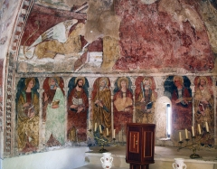 Chapelle Santa-Maria-Assunta -  Fresques (peintures murales