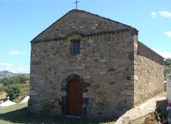 Chapelle San-Cervone - Français:   La chapelle San Cervone, au milieu du cimetière de Lavatoggio (Haute-Corse).