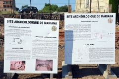 Cité antique de Mariana -  Site archéologique de Mariana