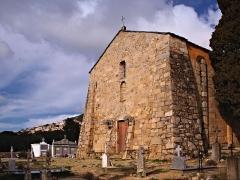 Chapelle Saint-Pierre-Saint-Paul - Corsu: Lumiu (Corsica) - A parte occidentale di a cappella San Pietro è San Paolo
