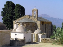 Chapelle Saint-Pierre-Saint-Paul - Corsu: Lumiu (Corsica) - A parte orientale di a cappella San Pietro è San Paolo