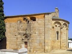 Chapelle Saint-Pierre-Saint-Paul - Corsu: Lumiu (Corsica) - A parte meridiunale di a cappella San Pietro è San Paolo