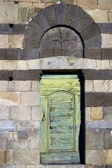 Chapelle Saint-Rainier -  Montegrosso, Balagne (Haute-Corse) - Portail de l'église romane San Raineru de Lunghignano