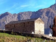 Chapelle Saint-Rainier -  Montegrosso, Balagne (Haute-Corse) - L'église romane San Raineru de Lunghignano, du XIIe siècle, classée au titre des Monuments historiques.
