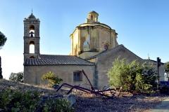 Eglise Saint-François-Xavier -  Monticello, Balagne (Haute-Corse) - Église Saint-François-Xavier, classée