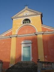Eglise Sainte-Julie - Français:   France, Haute-Corse (2B), Nonza, église Sainte-Julia